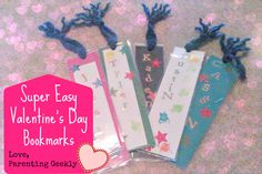Easy Waste-free Valentine's Project for Kids to hand out at school!