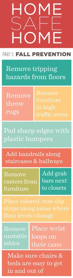 great tips to prevent falls. Prevent injuries with SmartCells. #mindcrowd #tgen #alzheimers www.mindcrowd.org