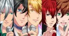 Amor Doce - Lysandre, Armin, Nathaniel, Castiel and Kentin