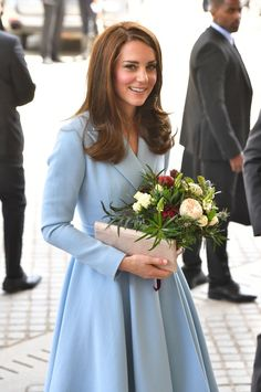 @elliotwagland: The Duchess of Cambridge arriving with Crown Princess Stephanie at the Musze d'Art Moderne during a day of visits in Luxembourg    (via anythingandeverythingroyals)