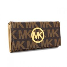 Michael Kors Envelope Large Brown Wallet