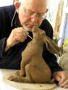 Brian Hollingworth, Animal Sculpture