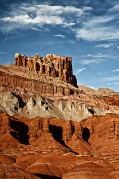 The Castle at Capitol Reef - Of all the national parks in Utah, Capitol Reef National Park. http://annemckinnell.com