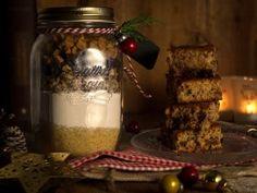Christmas Crafts, Xmas, Caramel, Mason Jars, Diy And Crafts, Food And Drink, Presents, Sweets, Chocolate