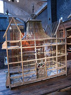 French Vintage Colonial style House Birdcage
