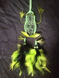 "3.5"" frog dream catcher"