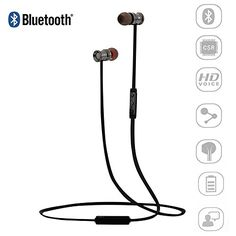 Sports Headset, Walker(TM) Neckband Wireless Bluetooth Headset, V4.1 APT-X Noise Cancelling Headphones Earphones with Microphone & Stereo for iPhone Android Smartphones with Magnetic Attraction(Black) Walker http://www.amazon.com/dp/B016XV4CLC/ref=cm_sw_r_pi_dp_SUvwwb0MZK22X