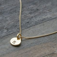 cute monogrammed necklace