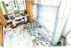 A Schematic Life: Interior Renderings