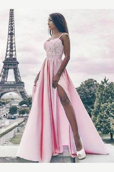 Prom Dresses 2019 #PromDresses2019, A-Line Prom Dresses #ALinePromDresses, Prom Dresses Lace #PromDressesLace, Prom Dresses 2018 #PromDresses2018, Prom Dresses Pink #PromDressesPink