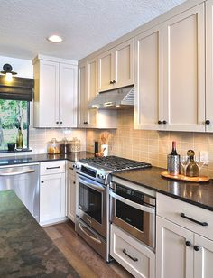 Nothing had been done to this 70s style house pad and it really needed some  TLC. Bathrooms, kitchen, fireplace, everything really needed a ...