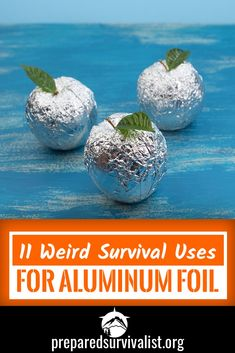 How many survival uses for aluninum foil do you know? There are a ton out there. Aluminum foil is much more that you standard kitchen item and should earn a place in your bug out bag. Keep reading to learn 11 survival uses for this weird hero of emergency Survival Quotes, Survival Food, Outdoor Survival, Survival Prepping, Emergency Preparedness, Survival Skills, Survival Hacks, Emergency Planning, Survival Items