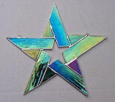 Vitrales Vitral Estrella Vidrio