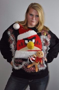 Cheri's Ugly Tacky Christmas Sweater LAND OF MISFIT TOYS SMALL S ...