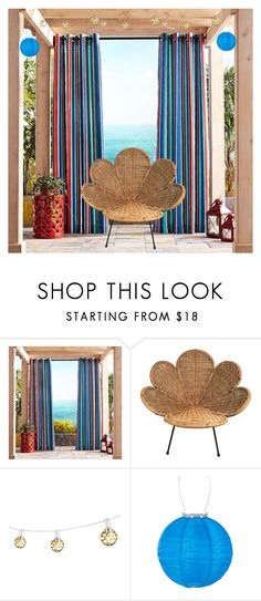 """""""Outdoor space"""" by airsunshine on Polyvore featuring interior, interiors, interior design, home, home decor, interior decorating, Pier 1 Imports and Bulbrite"""