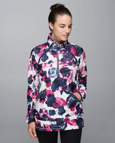 a884128d6ce Lululemon Miss Misty Pullover - Inky Floral Ghost Inkwell Bumble Berry - lulu  fanatics