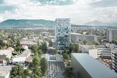 Lacaton & Vassal . Chêne-Bourg Opale . Geneva (1)