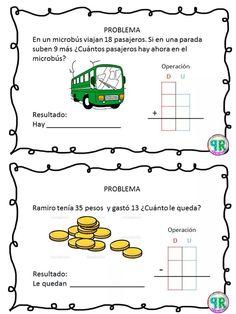 Problemas para I grado | Profe Yano Spanish Classroom Activities, Motor Skills Activities, Math 2, Math Class, Worksheets For Kids, Kindergarten Worksheets, Globe Logo, Star Labs, Maila