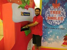 Fulfill a wish & draw a smile on a child's face like Mr Zubin, this Christmas! #InorbitMakesMeSmile