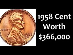 Top 4 Lincoln Cents Worth Thousands Found In Change Valuable Pennies, Rare Pennies, Valuable Coins, Coin Collection Value, Rare Coin Values, Penny Values, Old Coins Value, Old Coins Worth Money, Wheat Pennies