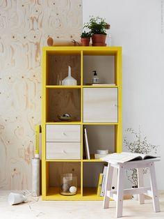 Hyllan KALLAX har egen lyskraft | IKEA Livet Hemma – inspirerande inredning för hemmet