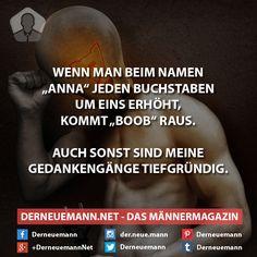 Tiefgründige Gedankengänge #derneuemann #humor #lustig #spaß #sprüche