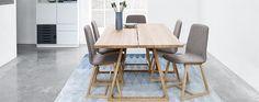 SKOVBY #105 PLANK TABLE   Skovby Møbler