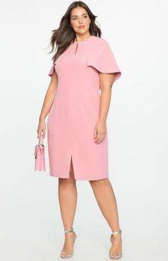 68 ideas dress cortos plus size at Diyanu Plus Size Short Dresses, Big Size Dress, Plus Size Cocktail Dresses, Trendy Dresses, Plus Size Dresses, Plus Size Outfits, Nice Dresses, Casual Dresses, Fashion Dresses