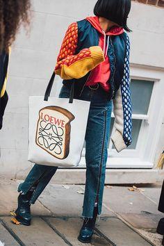 Уличный стиль: фото с Недели моды в Лондоне. Часть 2   Мода   STREETSTYLE   VOGUE