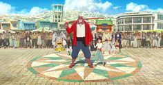The Boy and the Beast (バケモノの子, Bakemono no ko) by Mamoru Hosoda