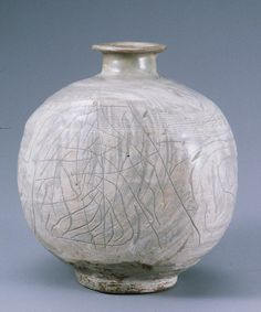 Buncheong Bottle, Joseon, 15th Century KOREAN ANTIQUES AND ART : More At FOSTERGINGER @ Pinterest