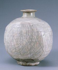 Buncheong Bottle, Joseon, 15th Century KOREAN ANTIQUES AND ART : More At FOSTERGINGER @ Pinterest