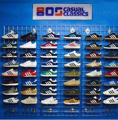 Wall of Adidas