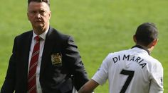 """""""Louis van Gaal says he """"does not know why"""" Angel Di Maria has not joined up with his team on their pre-season tour."""" (Published: 25 July 2015)"""