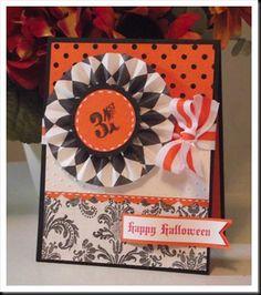 We love this beautiful Halloween card!