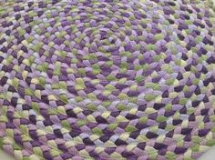 Upcycled Rug using T-
