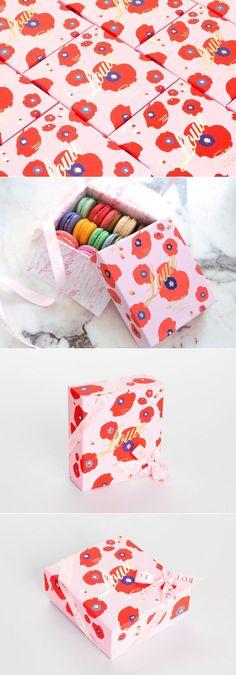 Bottega Louie's Summer Limited Edition Poppy Box — The Dieline | Packaging & Branding Design & Innovation News