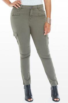 Plus Size Bolt Twill Cargo Pants Cargo Pants, Khaki Pants, Fashion To Figure, Plus Size Pants, Fashion Pants, Denim Jeans, Curves, Chic, My Style