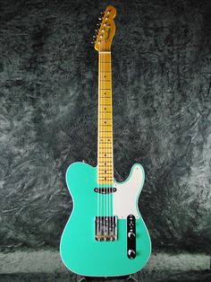 Fender USA Custom Shop TBC 2Tone Telecaster N.O.S-Sea Form Green Top Turquoise Back