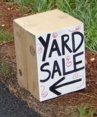 'A Yard Sale Checklist: Ten Tips for Garage Sale Prep.'  Planning a Garage Sale before your next PCS?  Here are some great tips.