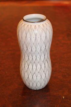 STIG Lindberg Vase for Gustavsberg Pottery Filigrin Sweden Mid Century | eBay