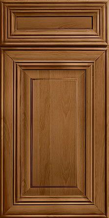 Merillat Masterpiece Cabinetry-Civano Hickory Rye With Sable Glaze from waybuild