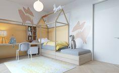 Sunny room for a girl on Behance