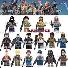 Toys & Hobbies Model Building Trustful Single Building Blocks With Weapon Jonesy Builder Male Explorer Ninja Dark Voyar Skull Trooper Action Figures Toy For Children Profit Small