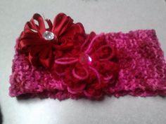 """Another """"Merry"""" yarn knit headband"""