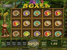 Fruit Boxes - http://freeslots77.com/fruit-boxes/ - You would definitely love to have a box filled with some delicious fruits at your home, but what about getting such a box in the wild especially in front of a monkey? iSoftBet has brought the challenge for you through its free Fruit Boxes online slot game that will help you to win the challenge...