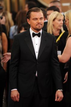 Leonardo DiCaprio in Giorgio Armani [Photo by Tyler Boye]