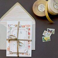 手作りウエディングカード・グリーティングカードの作り方とアイデア作品集  | Weddingcard.jp