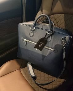 WEBSTA @ vitalij.p - When it comes to great hotels, only a few can be the best.#MarkCross#conceptstoreriga#markcross1845#briefcase#navy