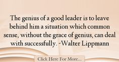 Walter Lippmann Quotes About Business - 7386